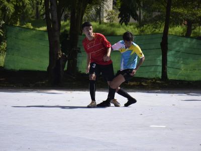 การแข่งขันกีฬาฟุตซอลระดับอศจ.ราชบุรี วันที่2