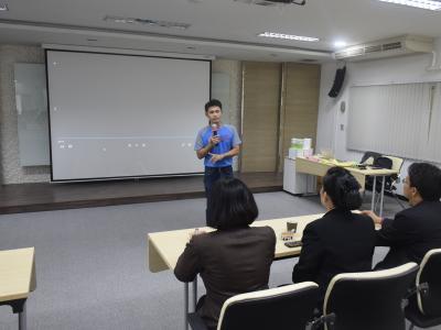 ศึกษาดูงานบริษัท SCG บ้านโป่ง