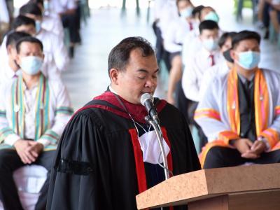 พิธีมอบประกาศนียบัตรผู้สำเร็จการศึกษา ประจำปีการศึกษา 2563