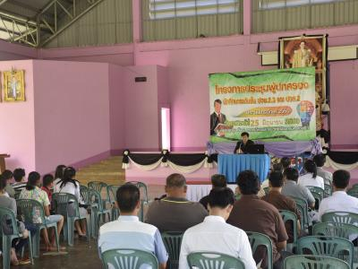 ประชุมผู้ปกครองนักเรียนนักศึกษาระดับชั้น ปวช.2,3 และ ปวส.2 รอบ 2
